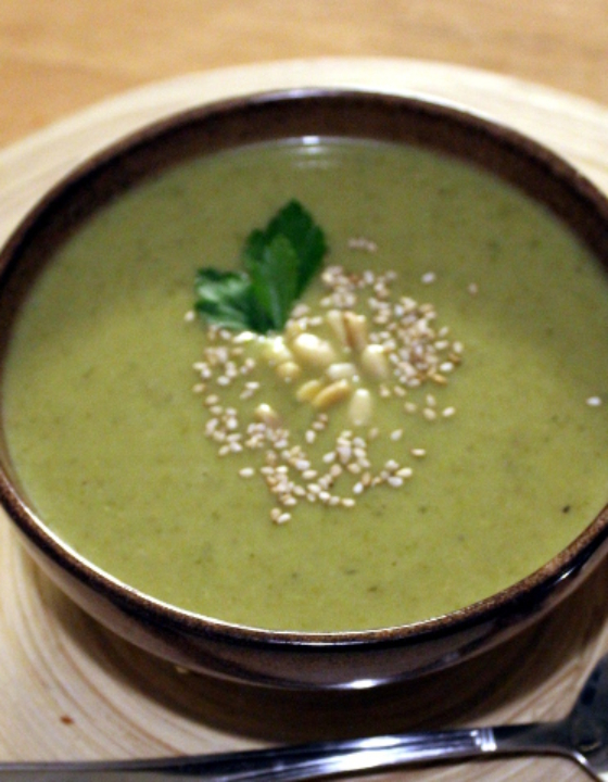 Rosenkohl-Suppe