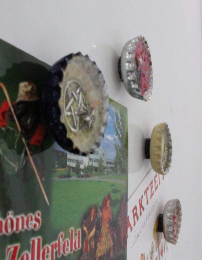 Magnete aus Kronkorken