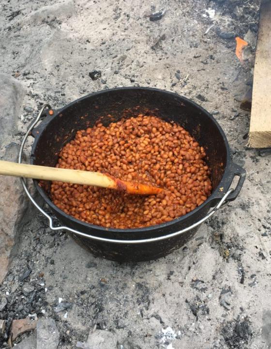 Baked Beans aus dem Feuertopf