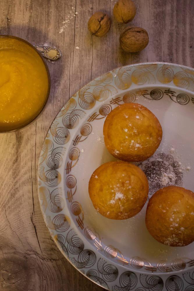 Apfelmus-Muffins