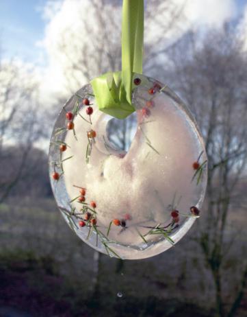 Licht im Garten: Eis-Sonnenfänger